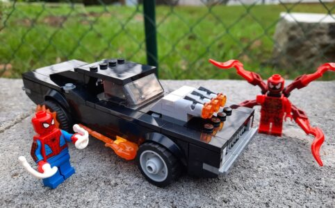 LEGO Marvel 76173 Spider-Man und Ghost Rider vs. Carnage