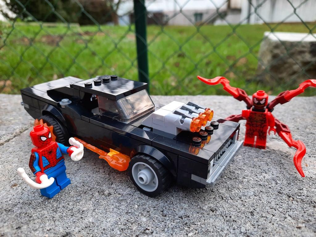 LEGO Marvel 76173 Spider-Man und Ghost Rider vs. Carnage
