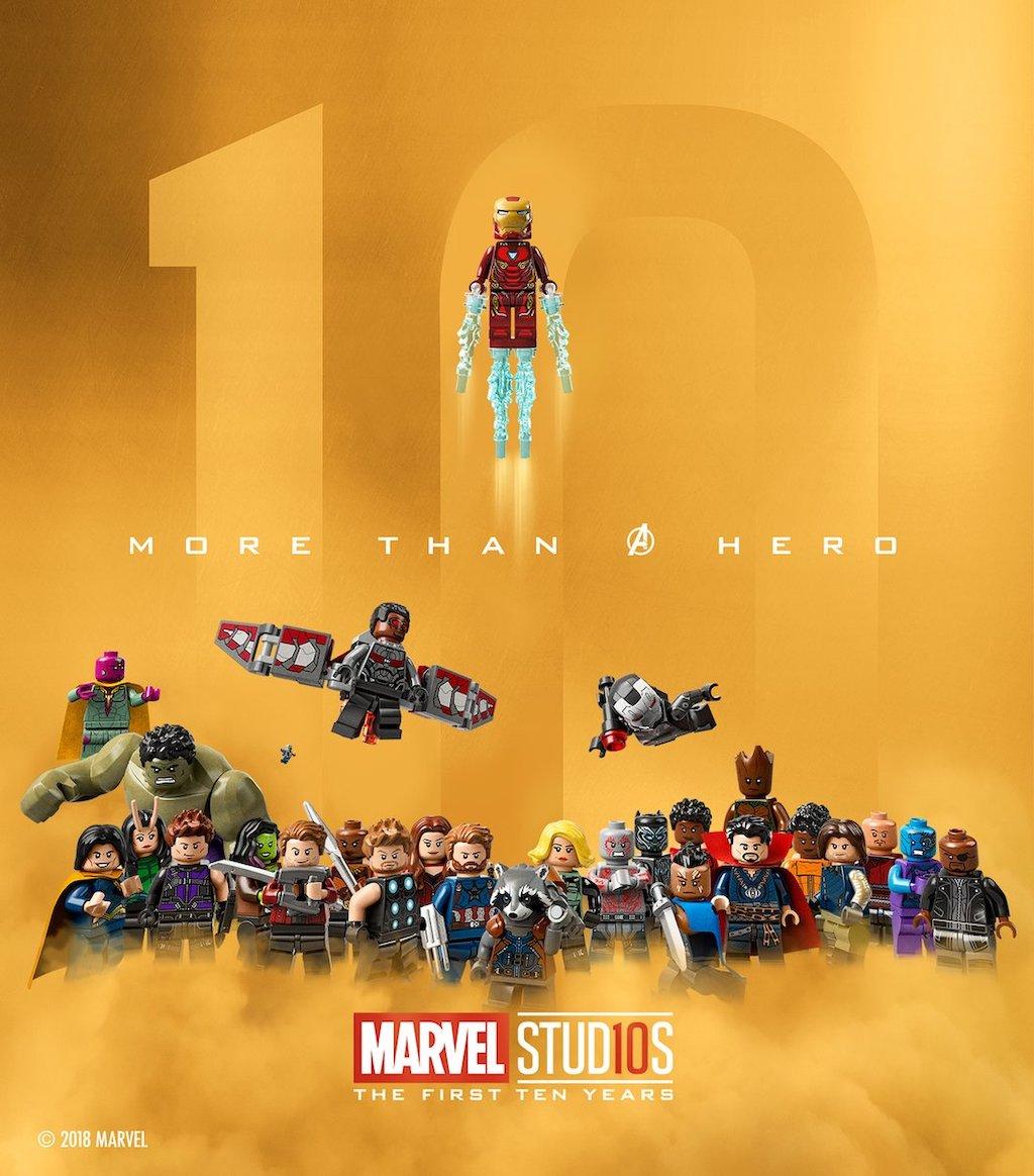 Marvel Minifiguren (bald als Minifigurenserie?)-Adventskalender
