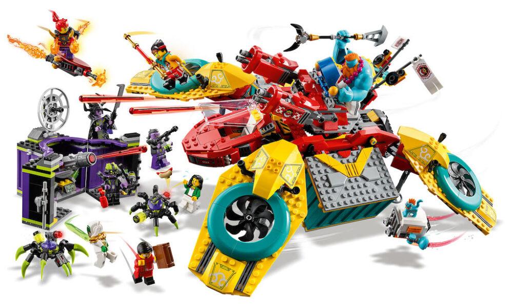 LEGO Monkie Kid 80023 Monkie Kids Hubschrauberdrohne