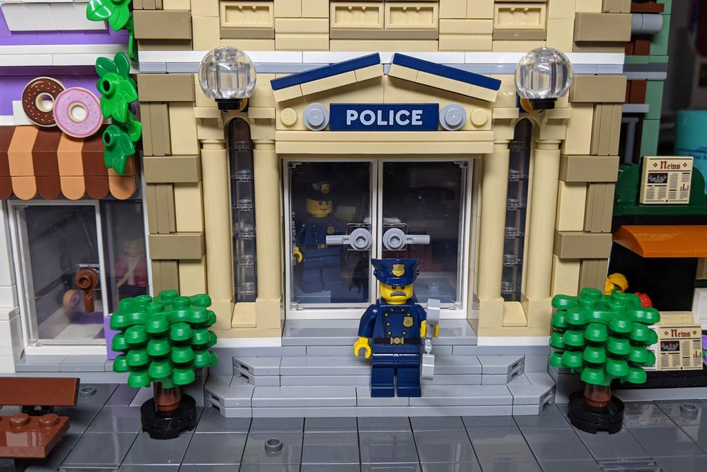 LEGO 10278 Polizeistation