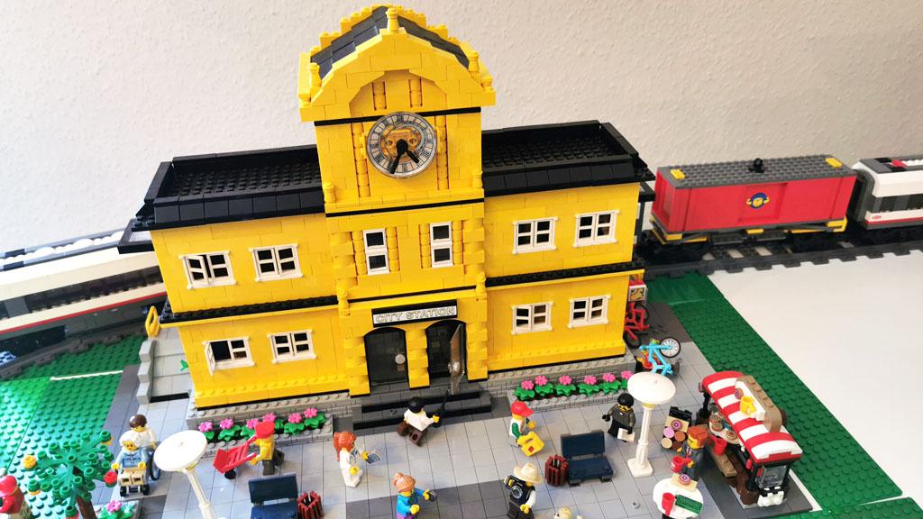 BenBricks LEGO Stadt 4554 Metro Station