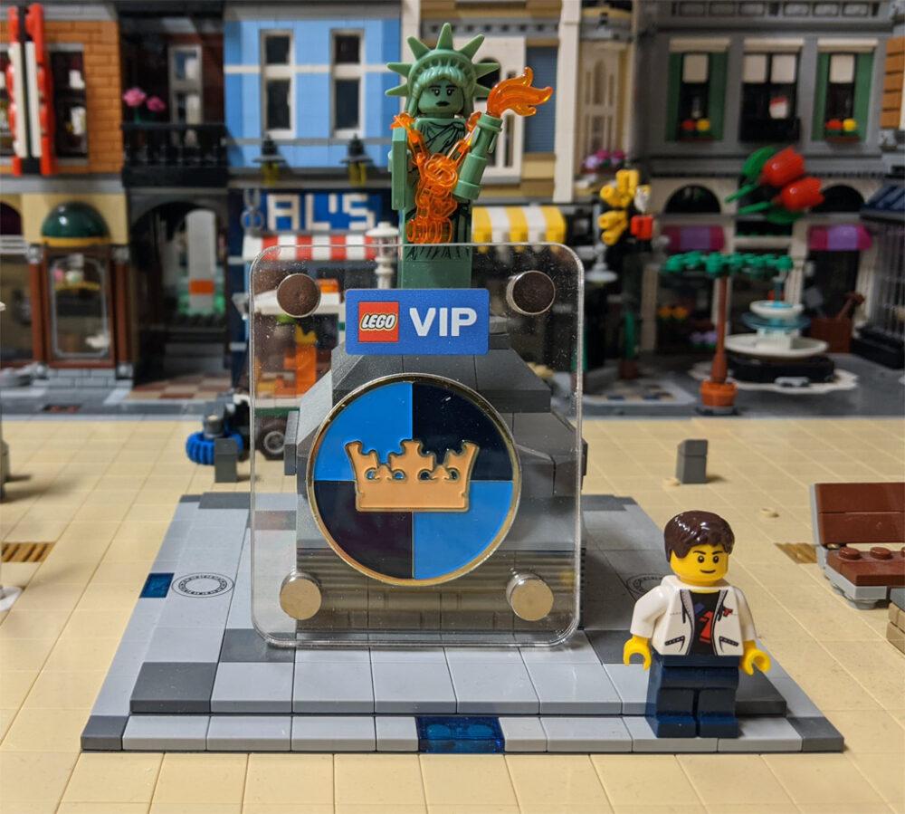 LEGO Castle-Logo Sammlermünze in der New Ukonio City