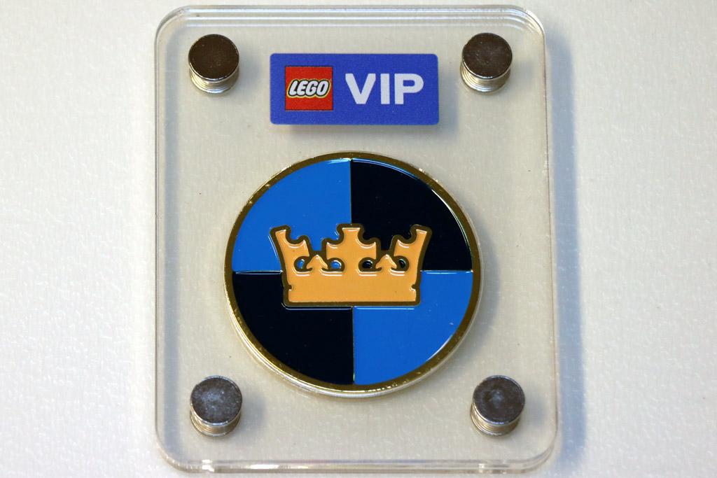 LEGO Castle-Logo Sammlermünze