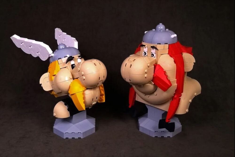 LEGO Ideas Asterix and Obelix Entwurf von ZetoVince37