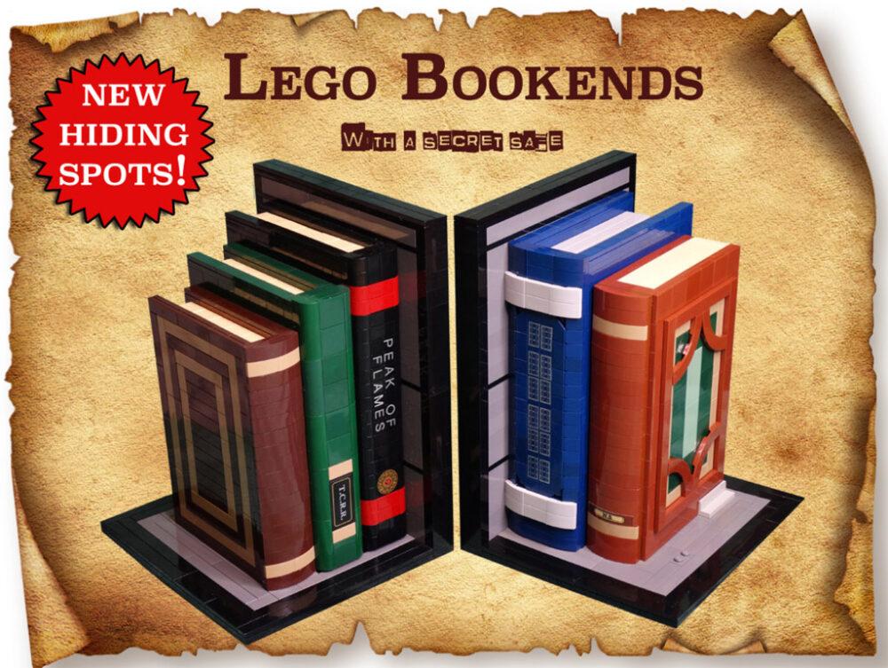 LEGO Ideas Bookends