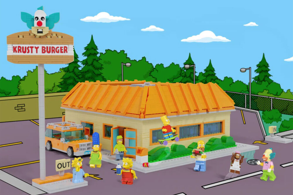 The Simpsons - The Krusty Burger