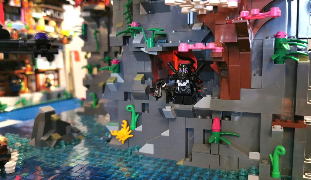 BenBricks LEGO Stadt der Oni Krieger