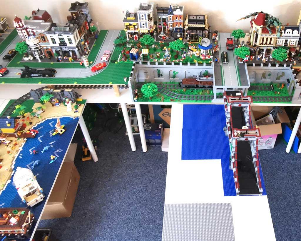 LEGO Stadtlayout BenBricks Geierhausen