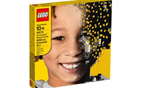 LEGO 40179 Personalisiertes Mosaik-Porträt