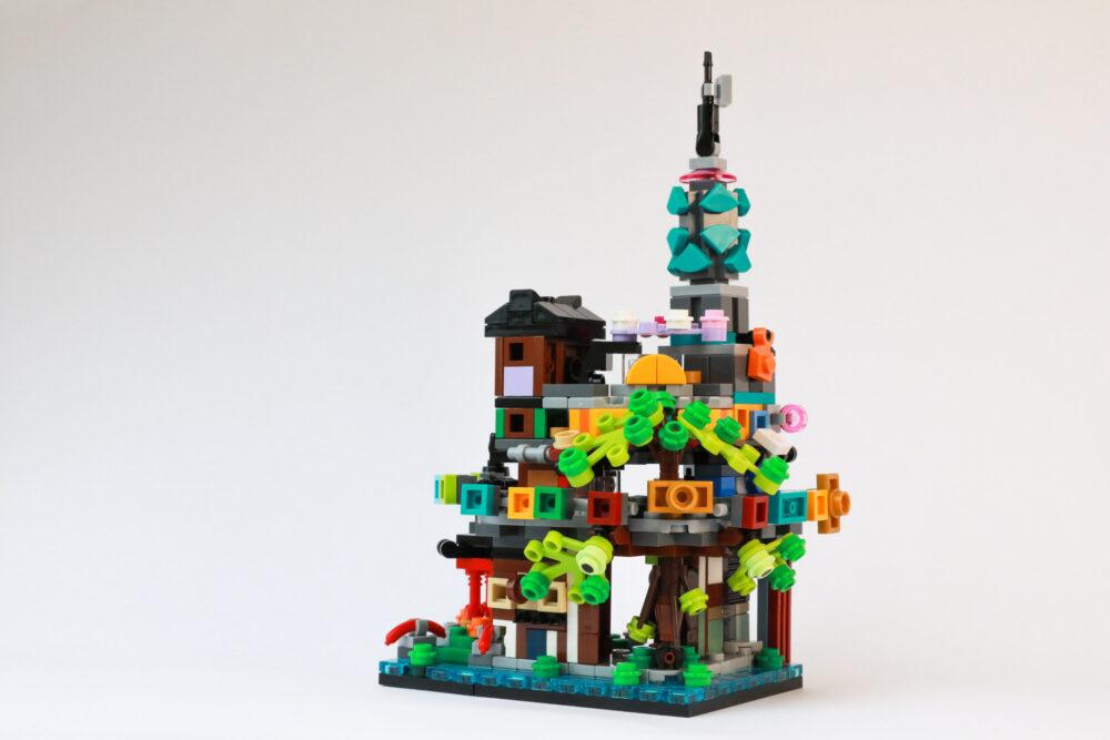 LEGO Ninjago 71741 Die Gärten von Ninjago City sind geschrumpft