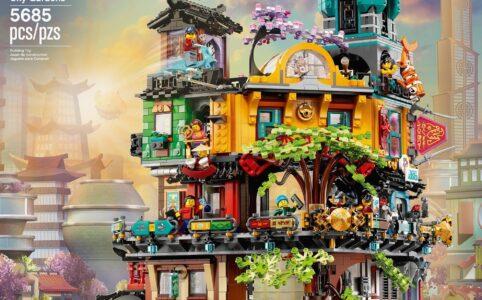 LEGO Ninjago 71741 Die Gärten von Ninjago City