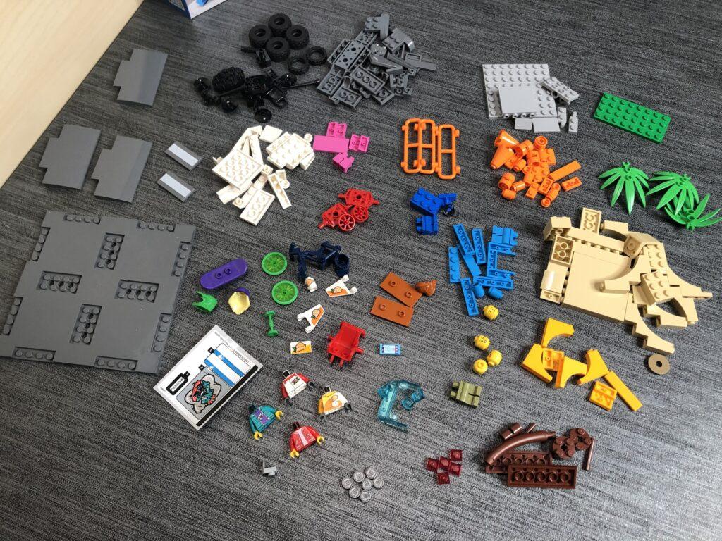 Alle Teile aus dem LEGO Skatepark
