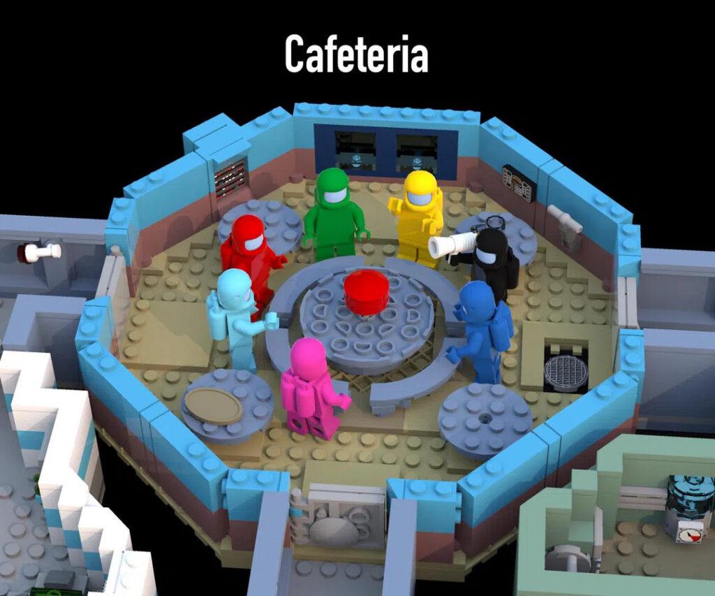 LEGO Among Us Cafeteria-Raum