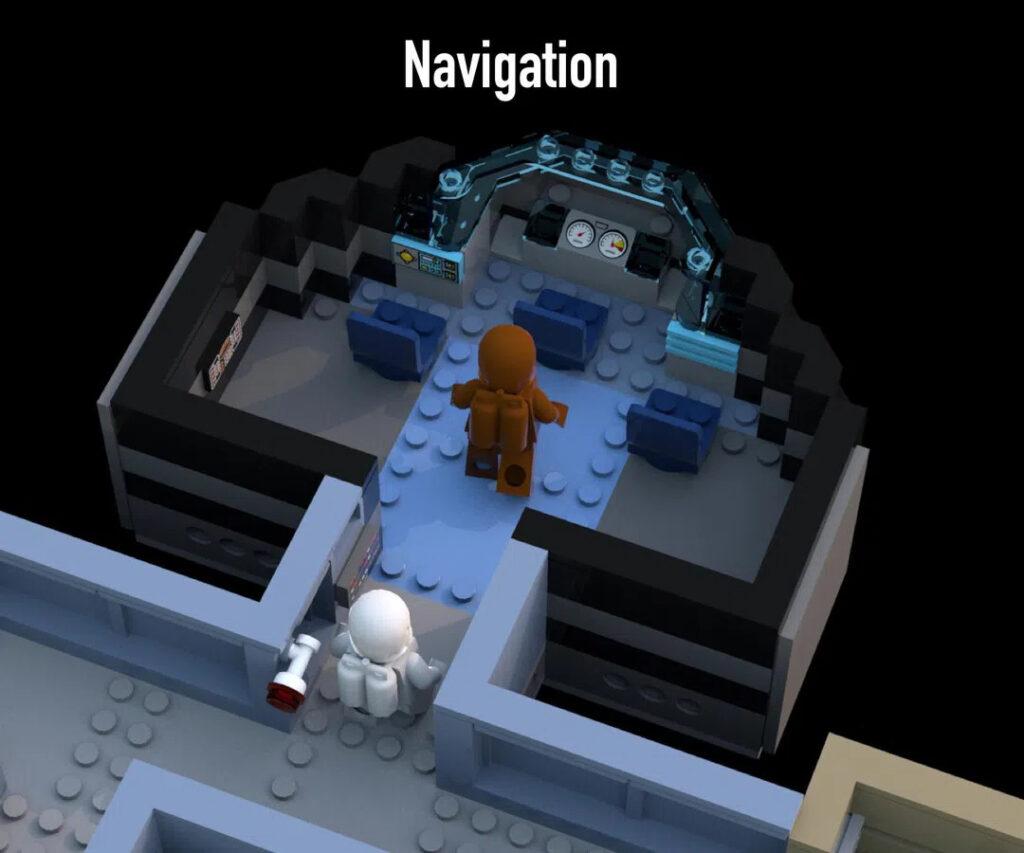 LEGO Among Us: Der Navi-Raum