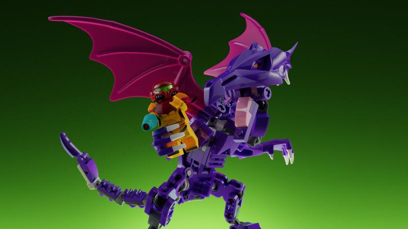 LEGO Ideas Metroid: Ridley und Samus
