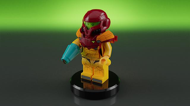 LEGO Ideas Metroid: Samus samt Helm