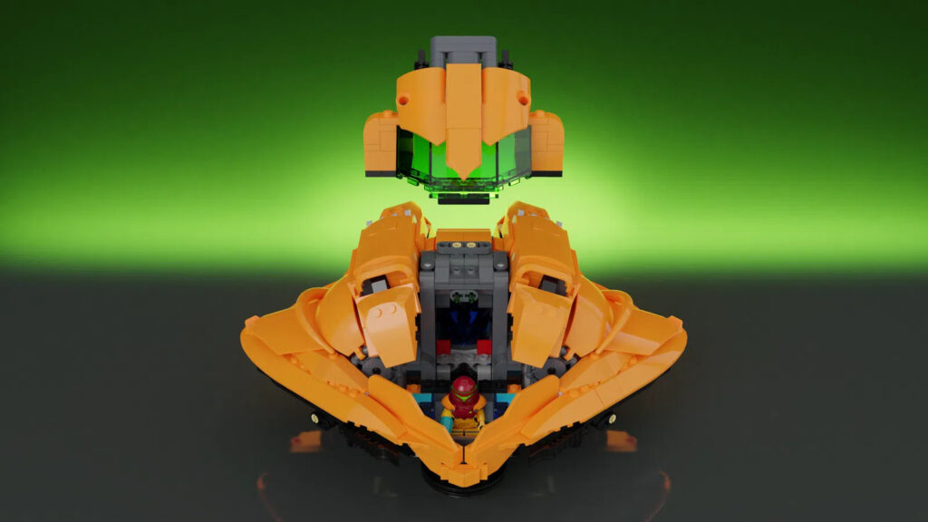 LEGO Ideas Metroid: Raumschiff