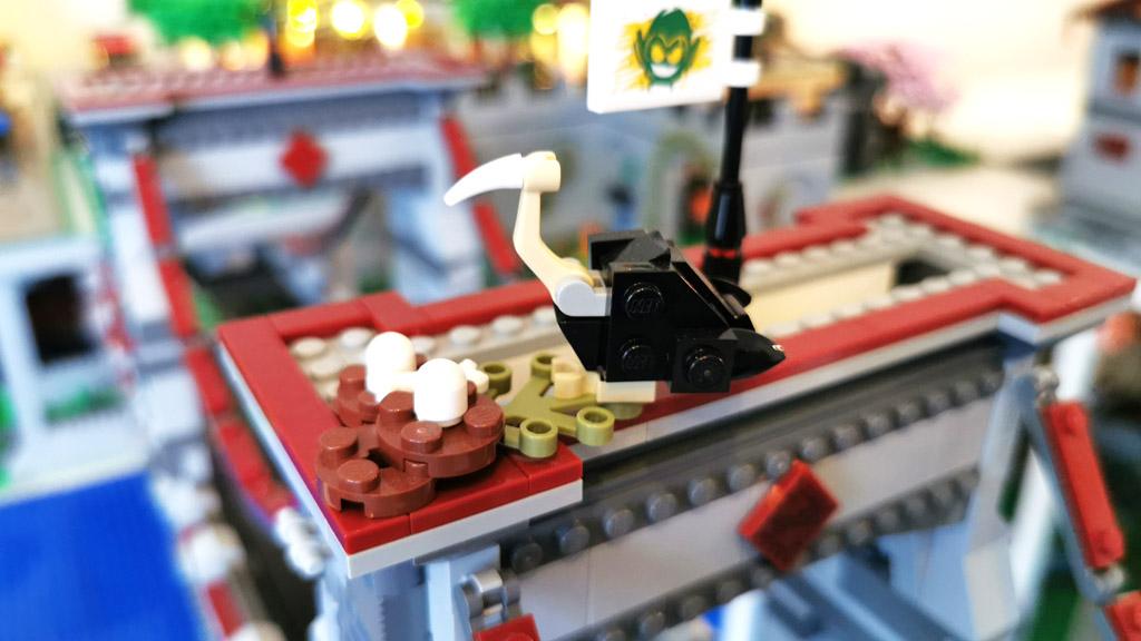 BenBricks LEGO Stadt Der Geier als Wappentier