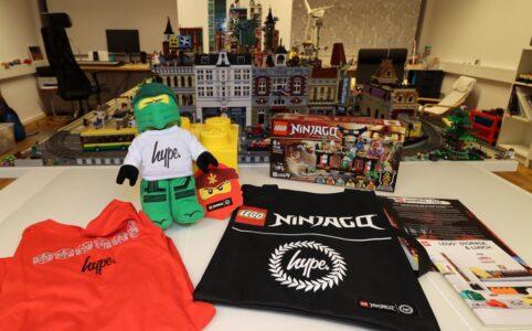 Die neue LEGO Ninjago Hype Kollektion