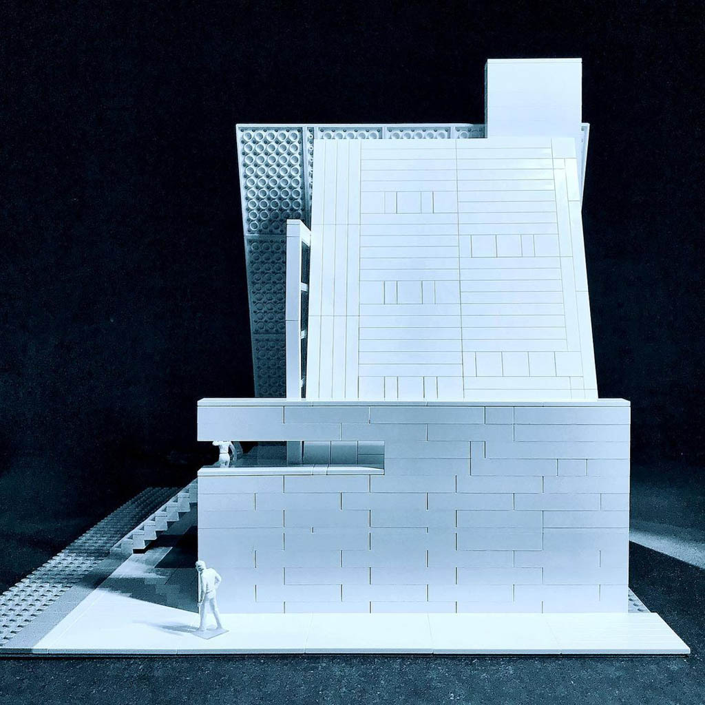 Modell von lego_tonic in Anlehung an das Wikwam House