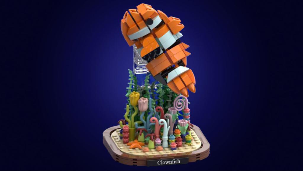 LEGO Ideas Marine Life von Brick Dangerous Der Clownfish