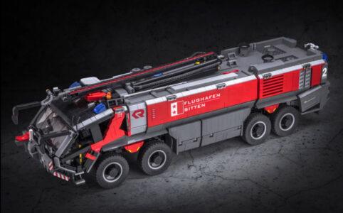 LEGO Ideas Flughafen-Feuerwehrauto