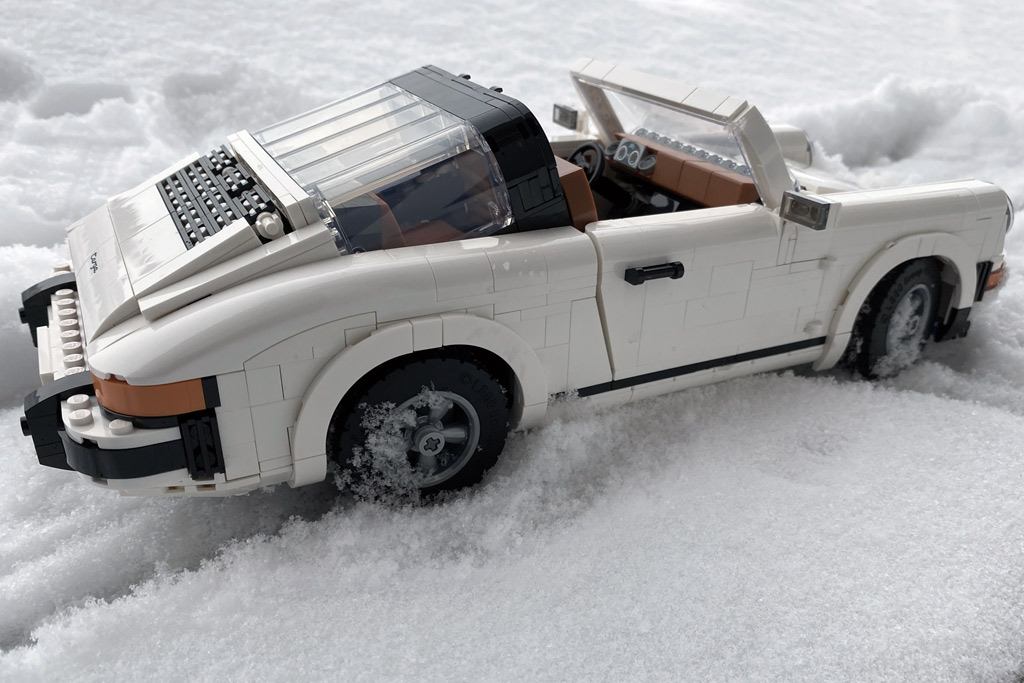LEGO 10295 Porsche 911 Targa mit Winterreifen