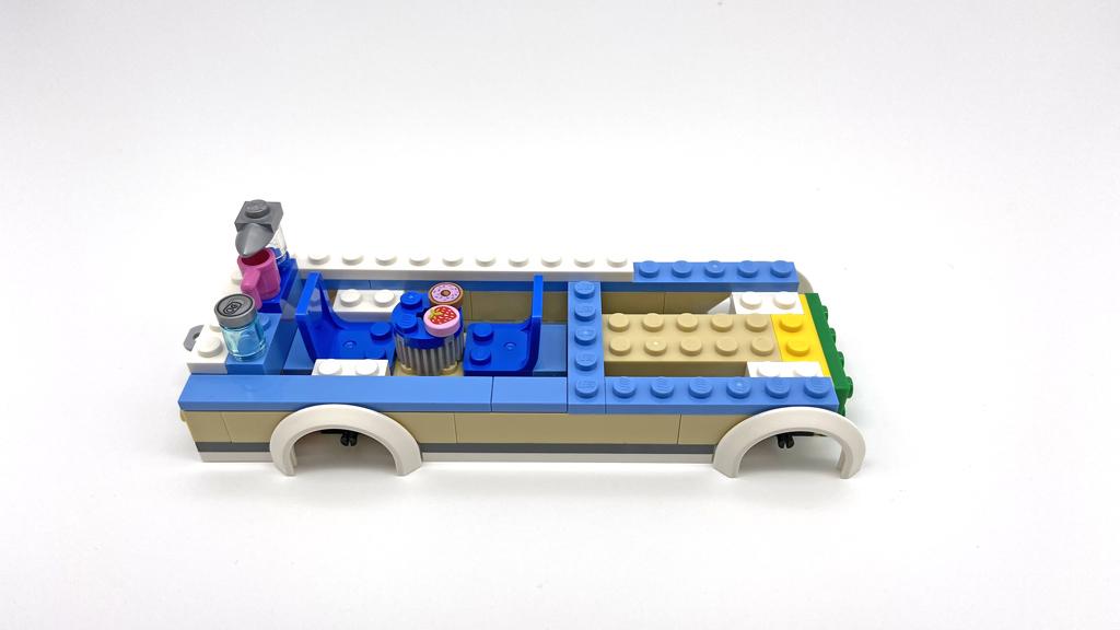 Das LEGO City 60283 Ferien-Wohnmobil Das Grundgerüst
