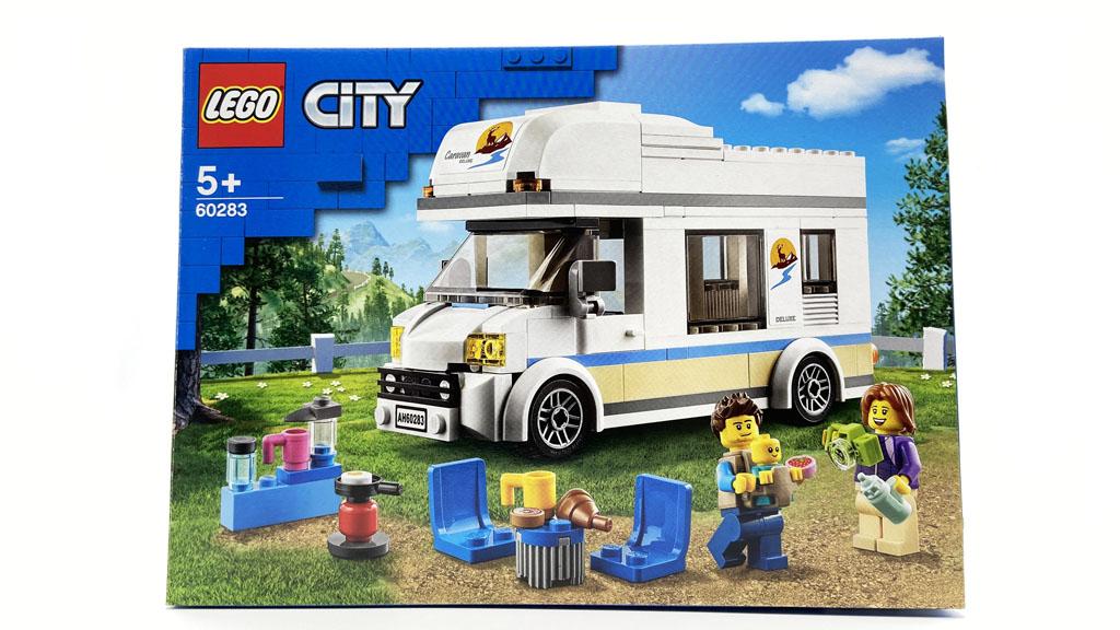 Das LEGO City 60283 Ferien-Wohnmobil Der Karton