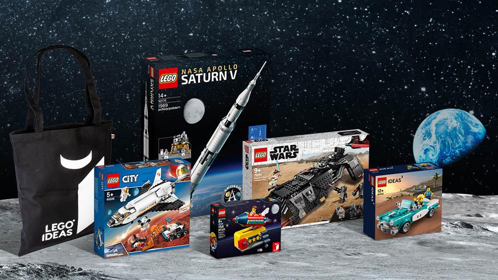 LEGO Ideas Contest Out of this World weitere Gewinne