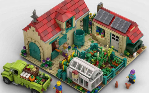 LEGO Ideas A Nice Day at the Farm