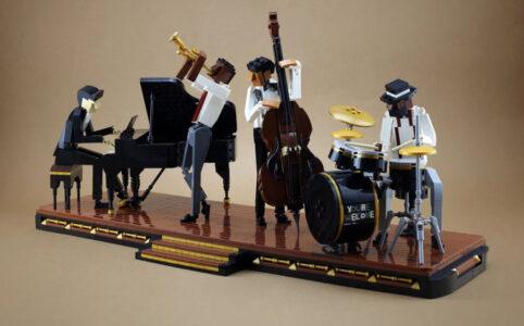 LEGO Ideas Jazz Quartett Entwurf von Hsinwei Ch