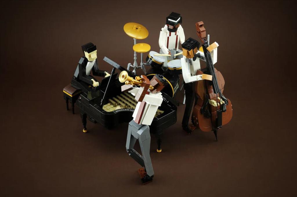LEGO Ideas Jazz Quartett Entwurf von Hsinwei Chi die Kombo