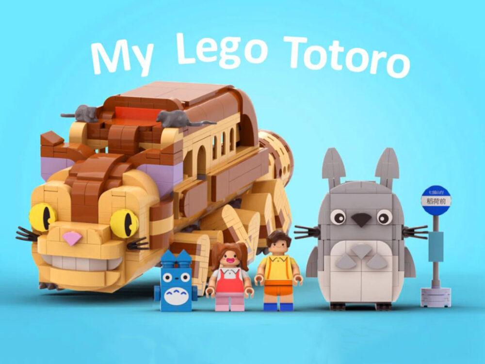 LEGO Ideas My LEGO Totoro Entwurf von legotruman