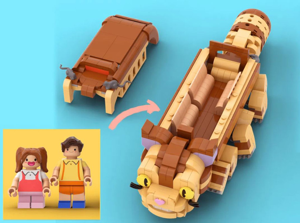 LEGO Ideas My LEGO Totoro Entwurf von legotruman der Katzenbus