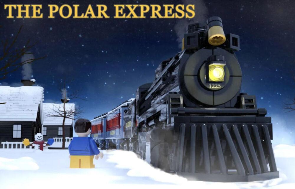 LEGO Ideas Polar Express Entwurf von Minibrick Produktions