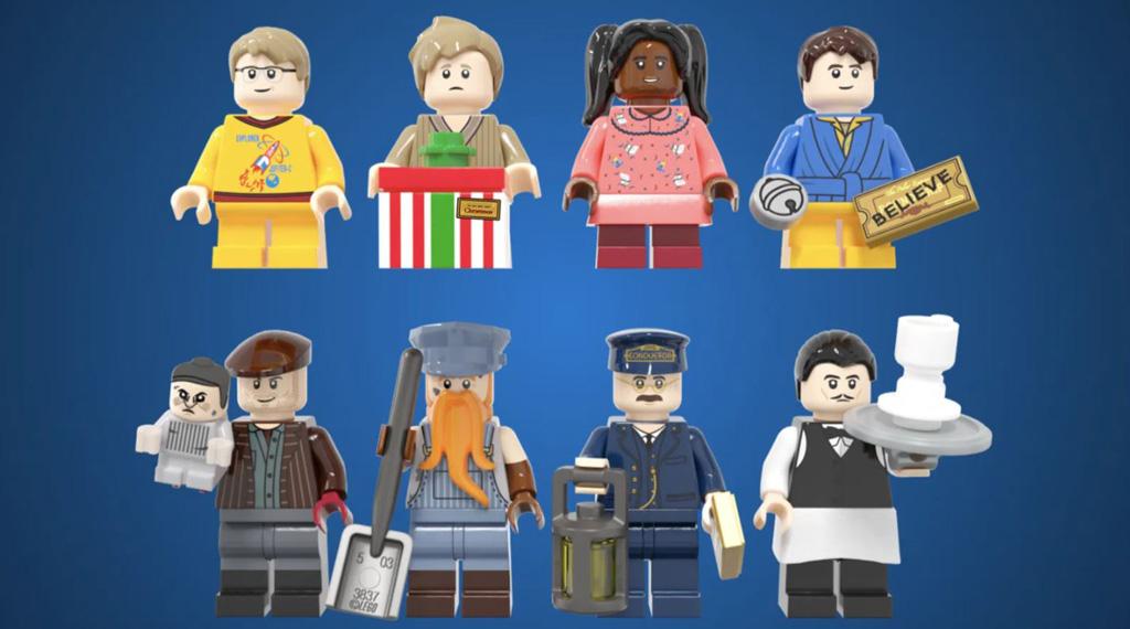 LEGO Ideas Polar Express Entwurf von Minibrick Produktions Die Minifiguren
