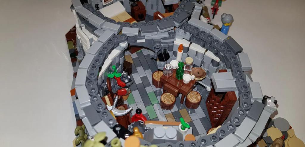 LEGO Ideas The Trulli of Alberobello von By Renato Lovicario RennaWSL Das Innenleben