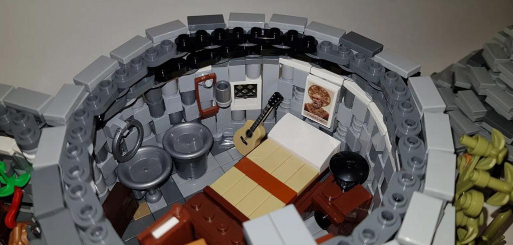 LEGO Ideas The Trulli of Alberobello von By Renato Lovicario RennaWSL Der Schlafbereich