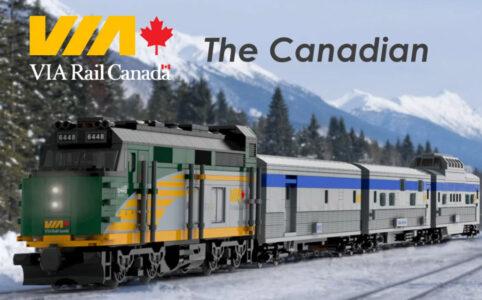 LEGO Ideas Via Rail Canada The Canadian Entwurf von NickLafreniere1