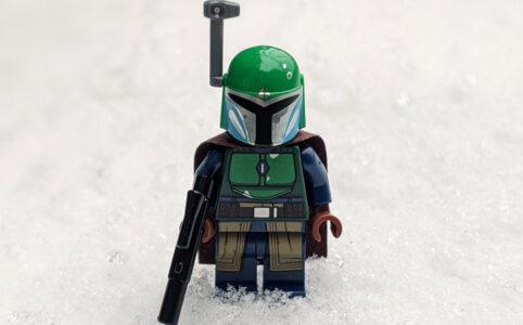 LEGO Star Wars Magazin Nummer 68 mit Minifiur: Ein Mandalorianer