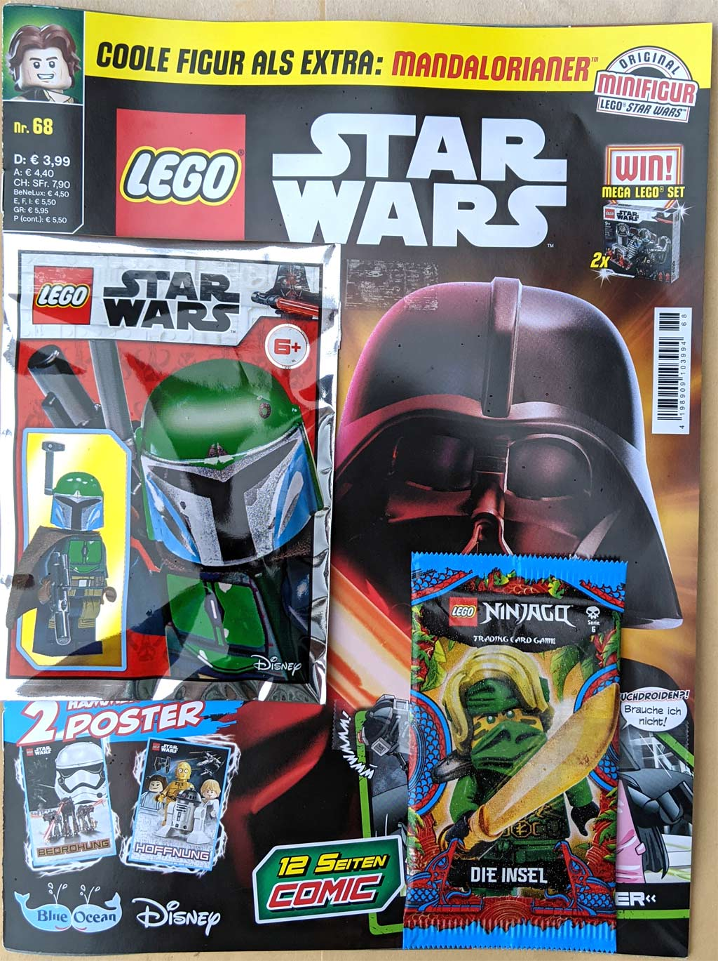 LEGO Star Wars Magazin Nummer 68