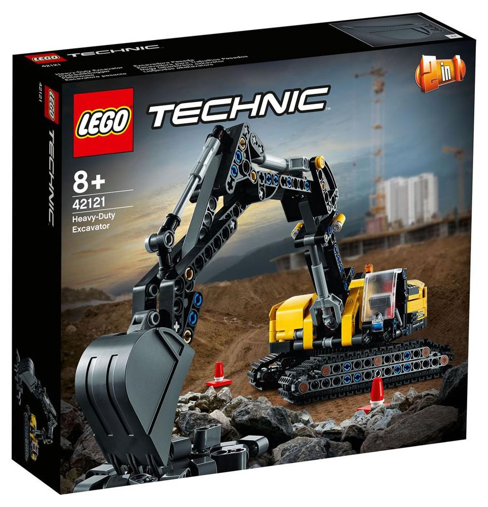 LEGO Technic 42121 Heavy-Duty Excavator