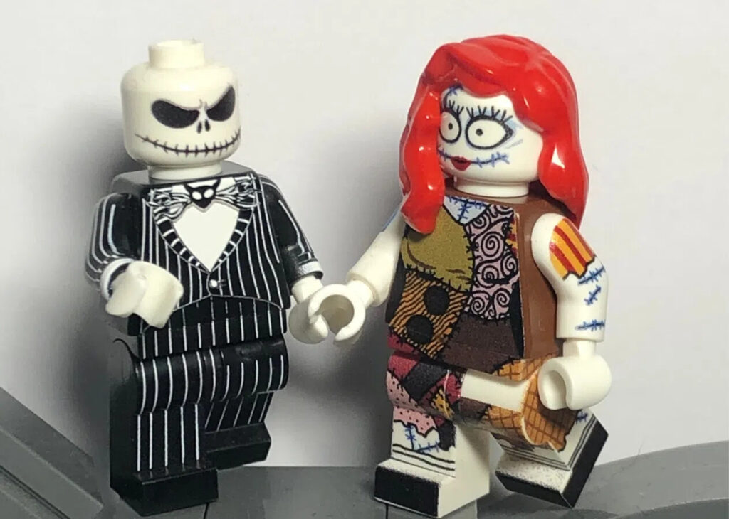 Jack und Sally LEGO Minifiguren
