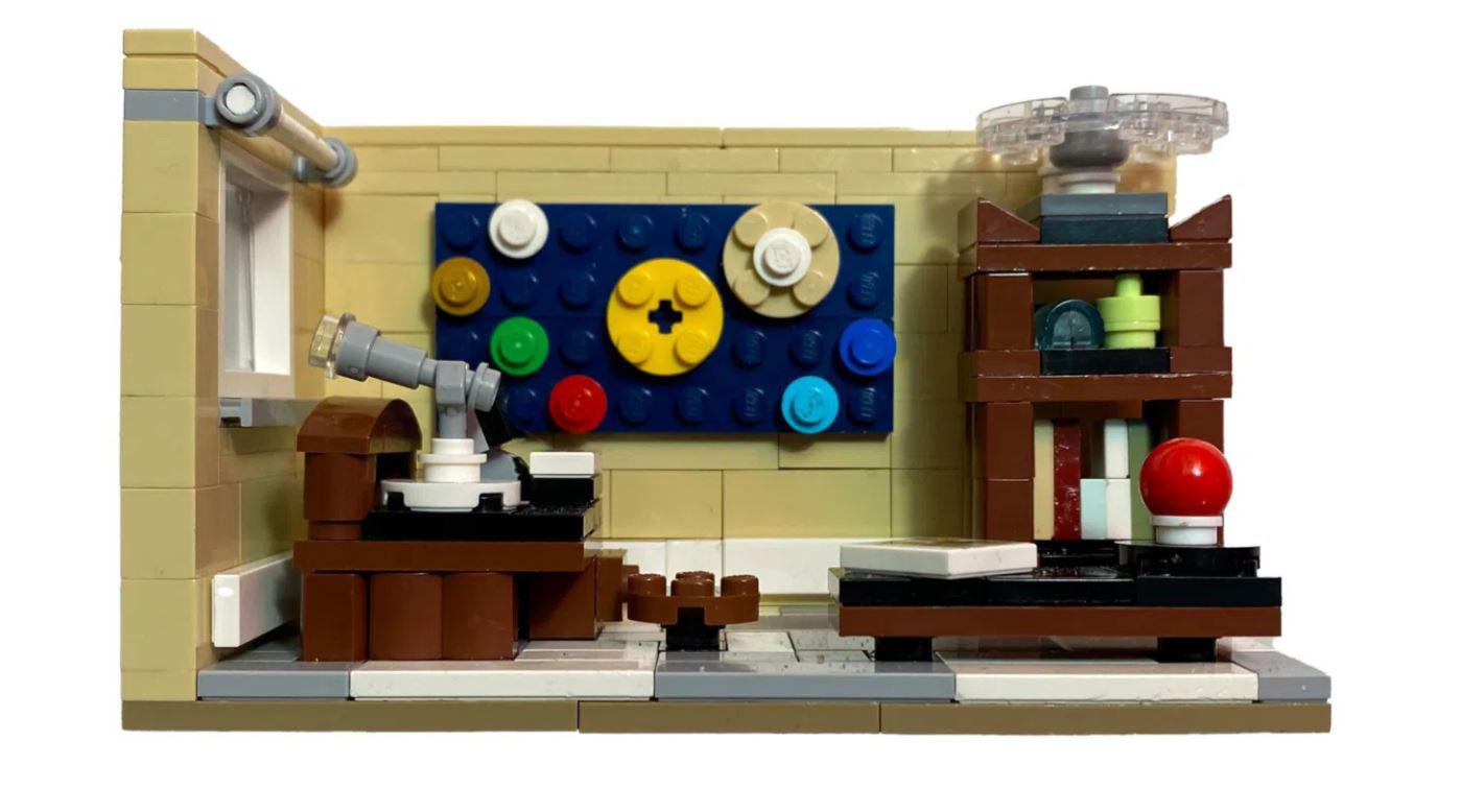 LEGO Ideas Contest der Fünfzehnte Platz Platz