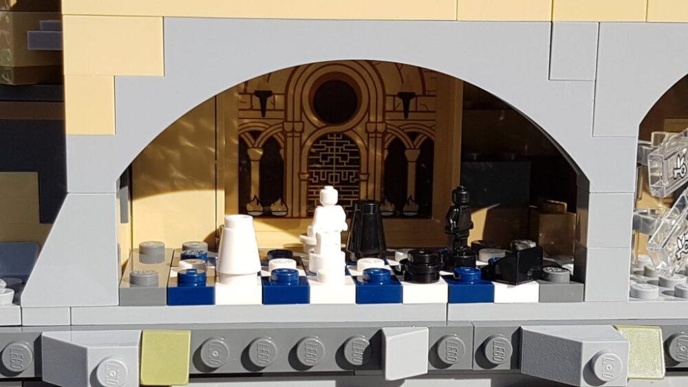 Schachspiel aus dem 71043 Hogwarts Castle