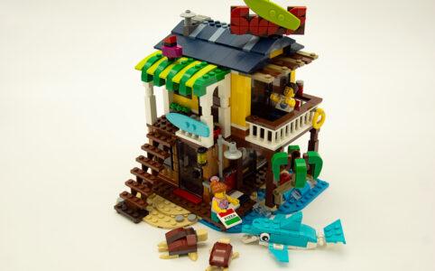 Das LEGO 31118 Surfer-Strandhaus. Sommerspaß zu verkaufen