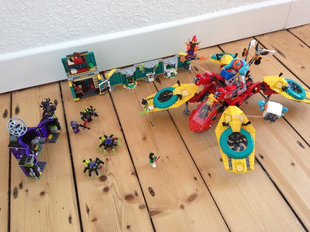LEGO 80023 Monkie Kid´s Team Dronecopter