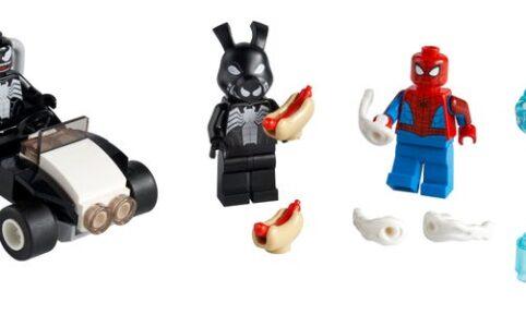 LEGO Marvel 40454 Spider-Man vs. Venom und Iron Venom